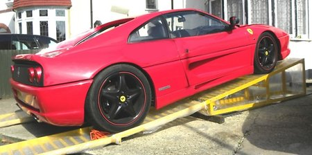 Car Ramp Plans UK. Ferrari 355