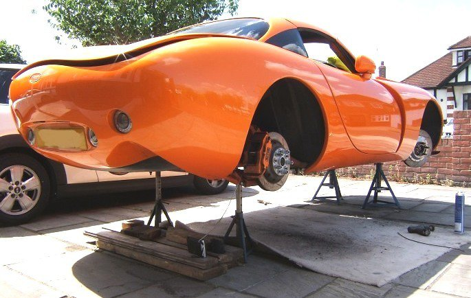 Car Ramp Plans UK. TVR TUSCAN