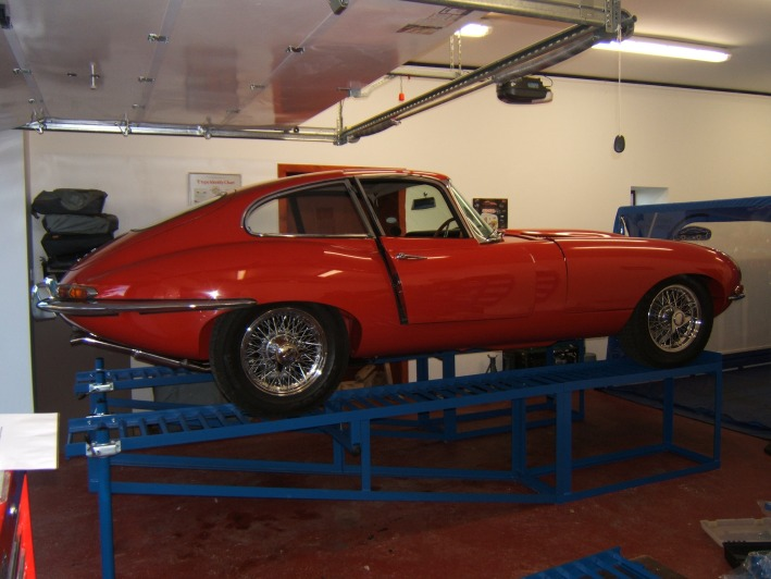 Car Ramp Plans UK. E type 2